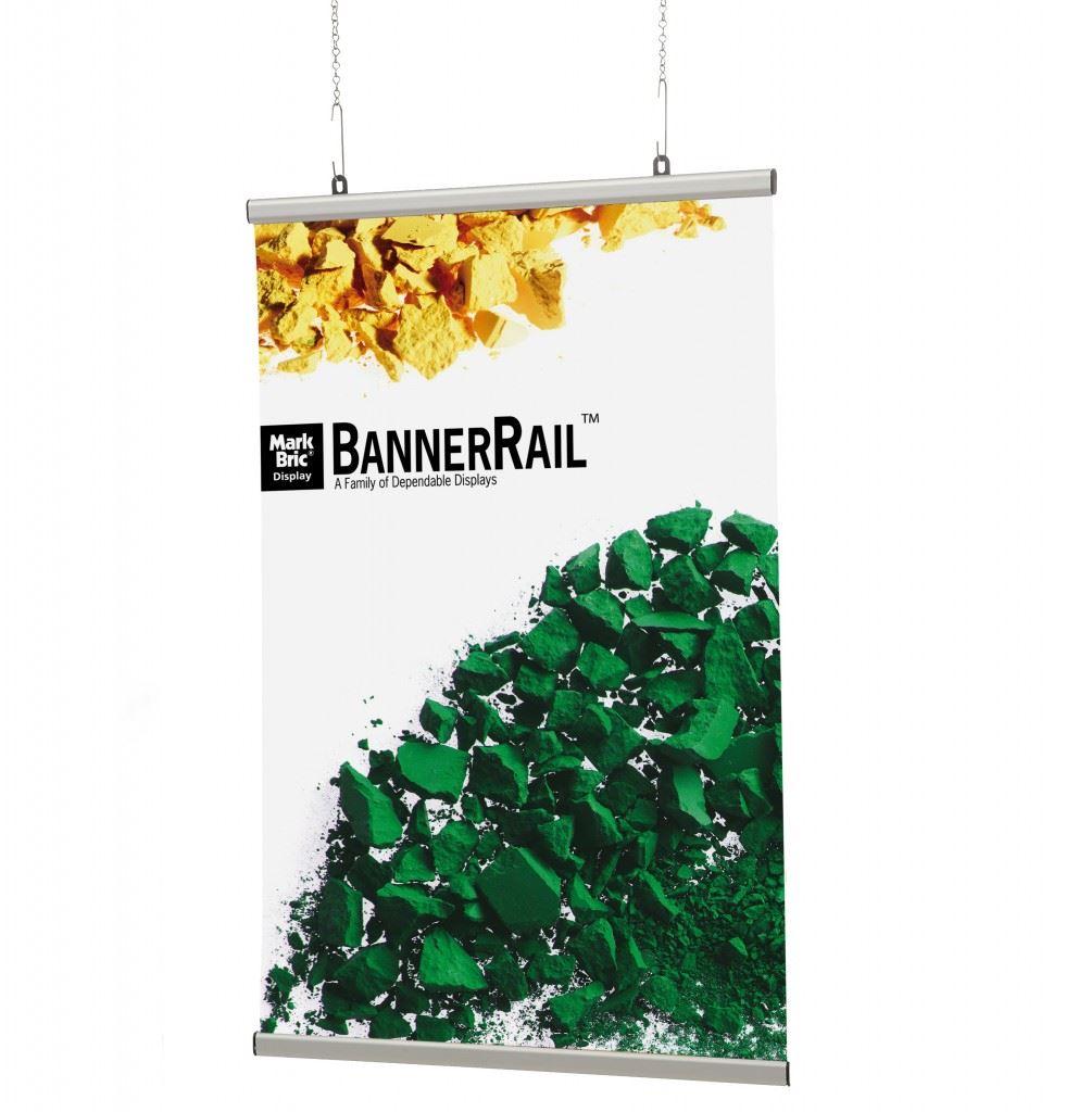 Aluminium slide bannerrail
