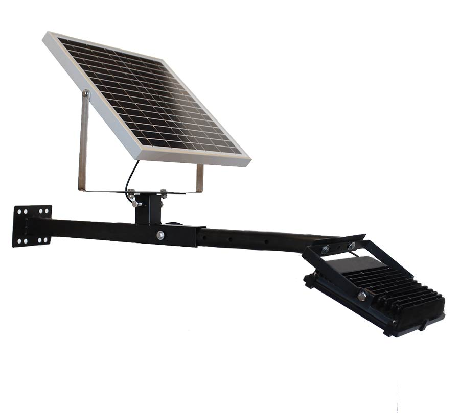 Mounted LED solar directional down light