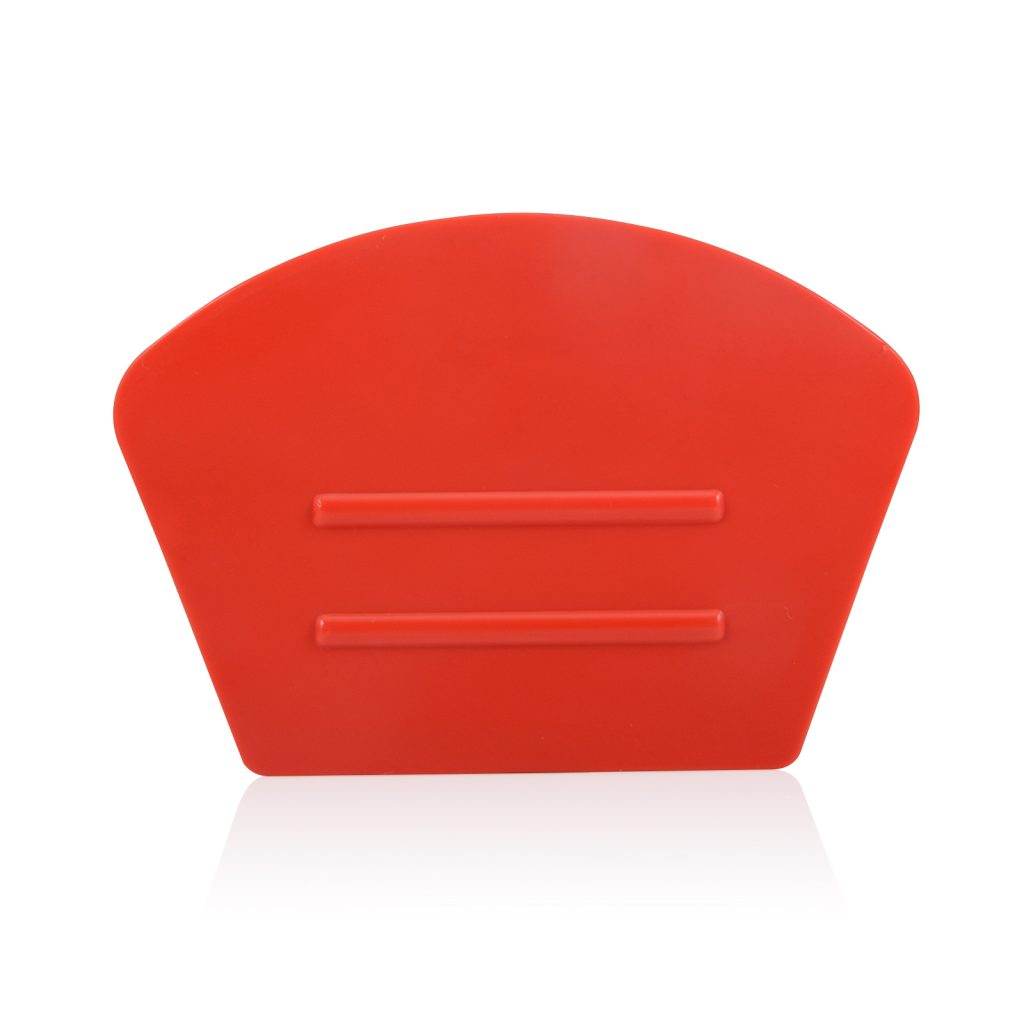 semi curve red squeegee