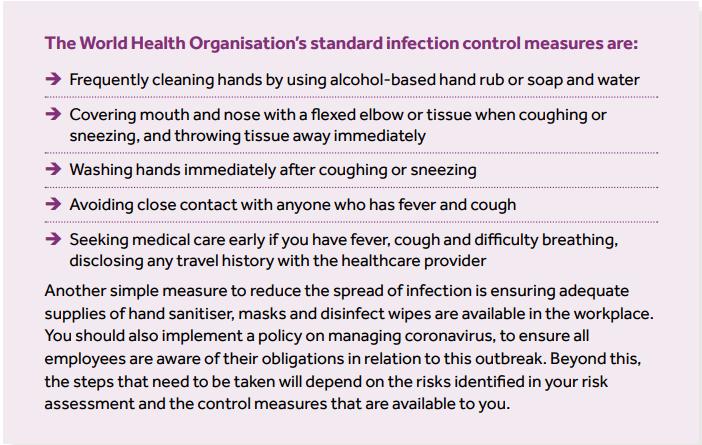 coronavirus directives