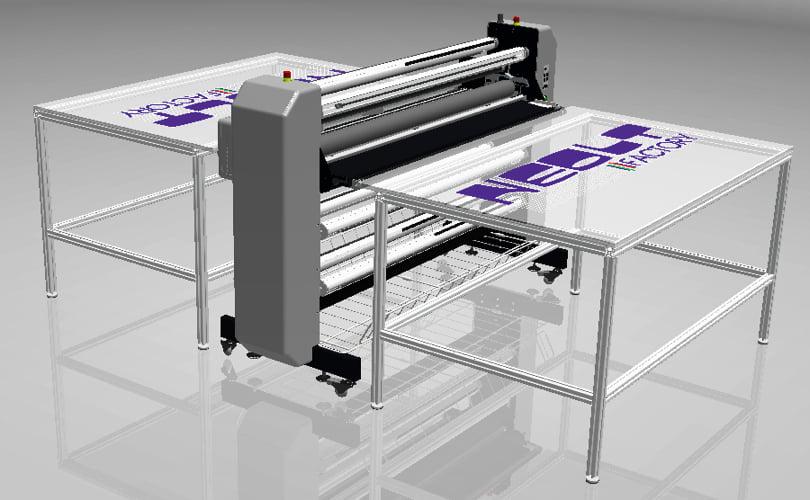 Shield laminator table